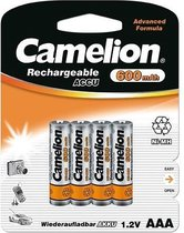 Camelion NH-AAA600-BP4 Rechargeable battery Nikkel-Metaalhydride (NiMH)