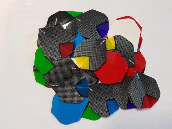 10 sets (30 stuks) Skylight/poly dartflights - dartflight - multipack