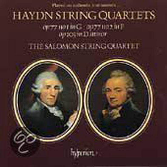 Haydn: String Quartets Op 77, 103 / Salomon Quartet