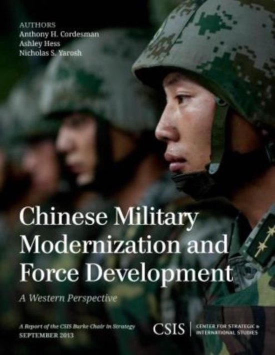 Boek cover Chinese Military Modernization and Force Development van Anthony H. Cordesman (Paperback)