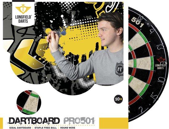 Afbeelding van het spel Longfield Dartbord PRO 501 – Chinese Sisal