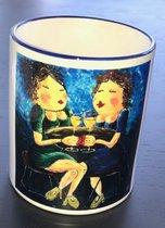 Mok Friends, mok voor koffie en thee