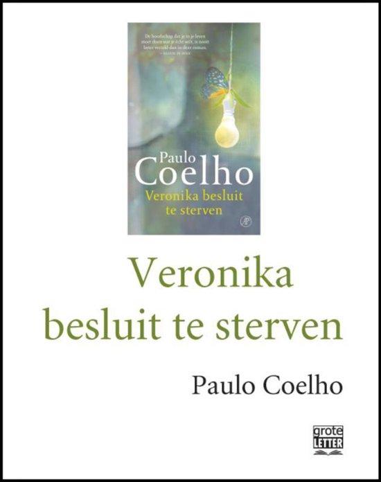 Veronika besluit te sterven - grote letter - Paulo Coelho |