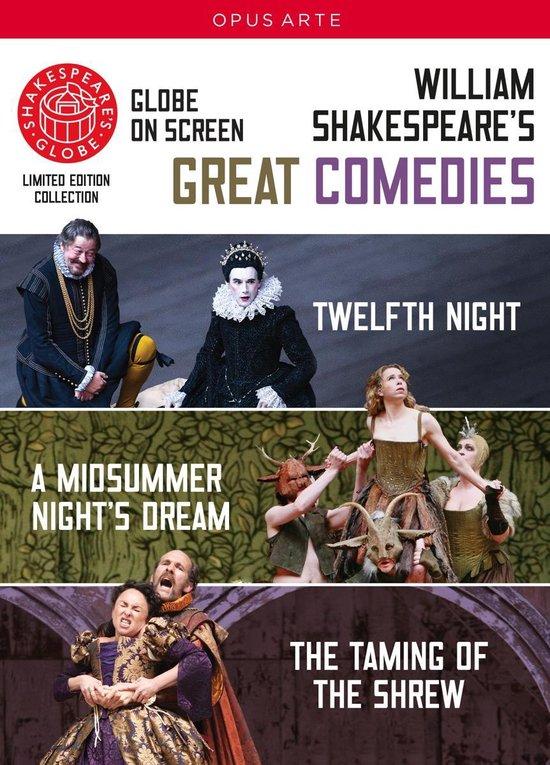 CD cover van Shakespeares Globe - Great Comedies van Shakespeares Globe