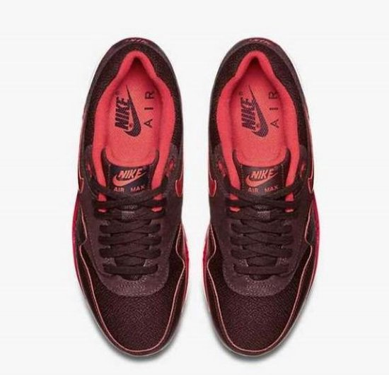 air max 1 bordeaux rood