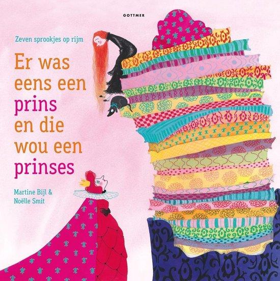 Boek cover Er was eens een prinses en die wou een prins van Martine Bijl (Onbekend)
