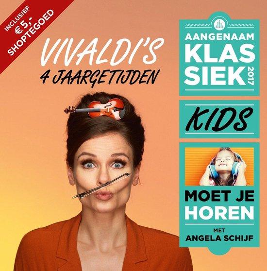 CD cover van Klassiek For Kids 2017 van Aangenaam Klassiek