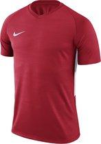 Nike Tiempo Premier SS Jersey  Sportshirt - Maat M  - Mannen - rood