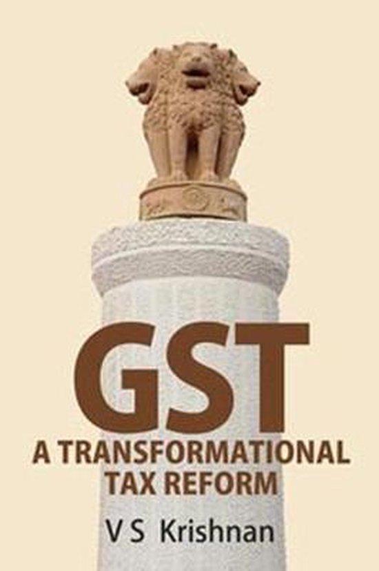 Boek cover GST van V.S. Krishnan (Hardcover)