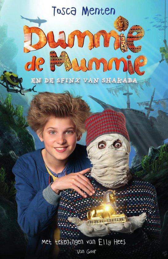 Omslag van Dummie de mummie 3 - Dummie de mummie en de sfinx van Shakaba