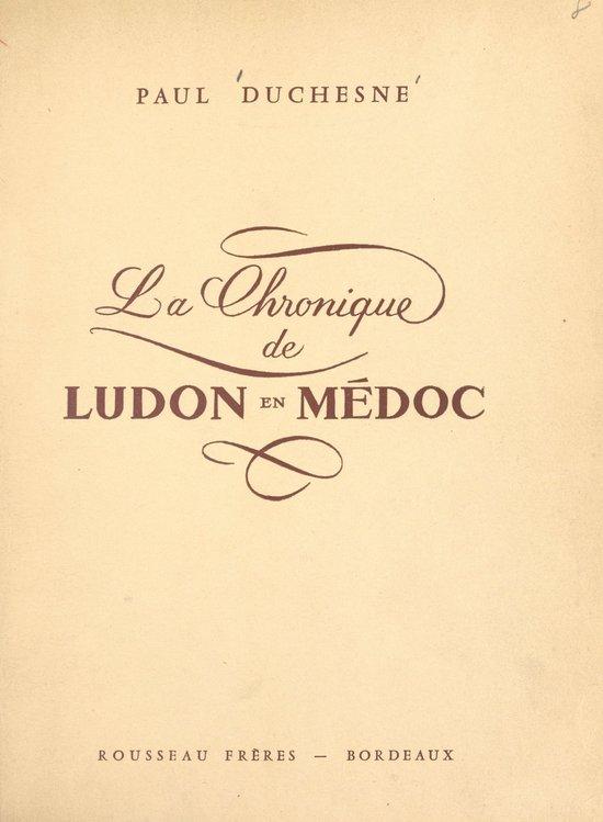 La chronique de Ludon en Médoc