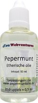 Pure etherische pepermuntolie - 50 ml - etherische pepermunt olie - essentiële pepermuntolie - 4You Webventures