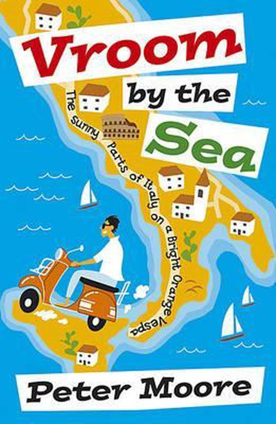 Boek cover Vroom by the Sea van Peter Moore