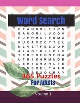 Word Search 365 Puzzles For Adults Volume 1