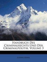 Handbuch Des Criminalrechts Und Der Criminalpolitik, Dritter Theil.