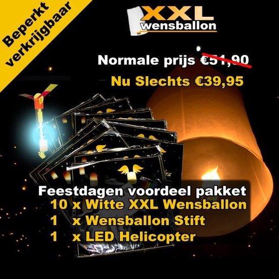 Wensballon Feestdagen voordeelpakket