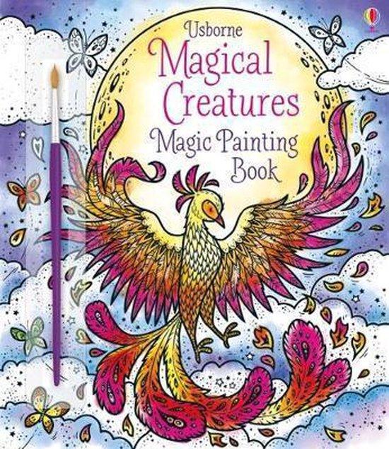 Boek cover Magical Creatures Magic Painting Book van Abigail Wheatley (Paperback)