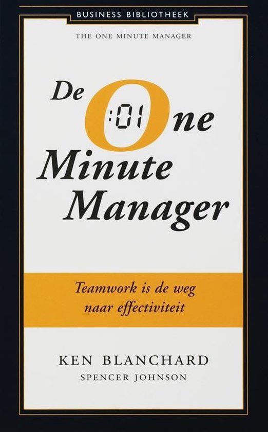 Business bibliotheek - De One Minute Manager - Kenneth Blanchard |