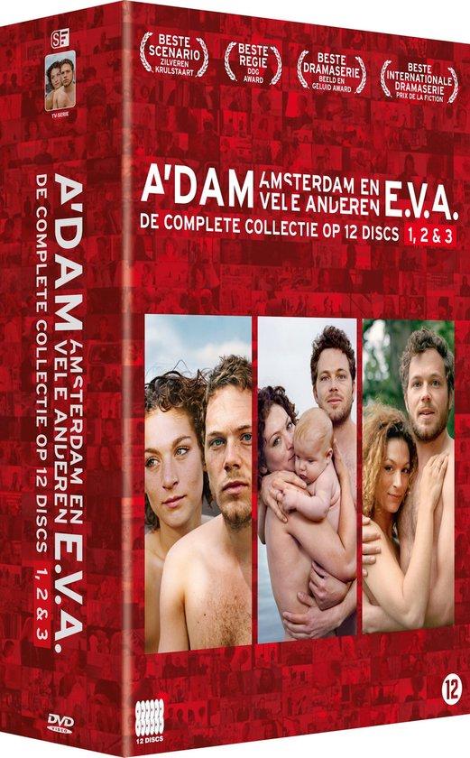 A'Dam - E.V.A. 1,2,3 - 12Dvd