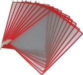 2x Tarifold tas t-display rood