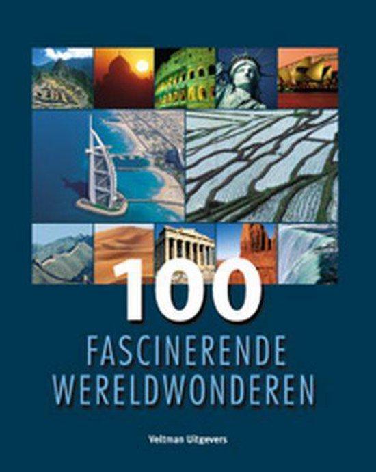 Cover van het boek '100 Fascinerende wereldwonderen'