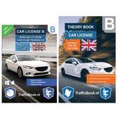 Boek cover Auto Theorieboek Engels 2021 met Engelse Auto Theorie CD - Car Theory Book + Exam CD van Leertheorie (Paperback)