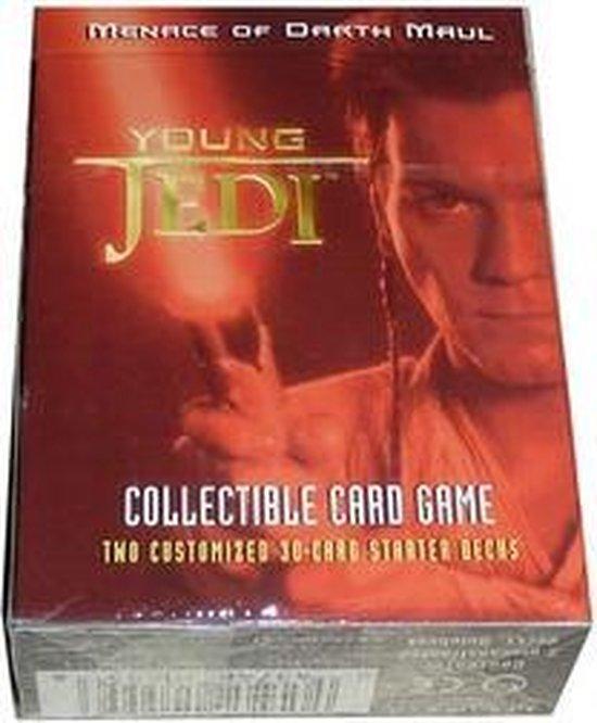 Star Wars Young Jedi Menace of Darth Maul Starter Deck
