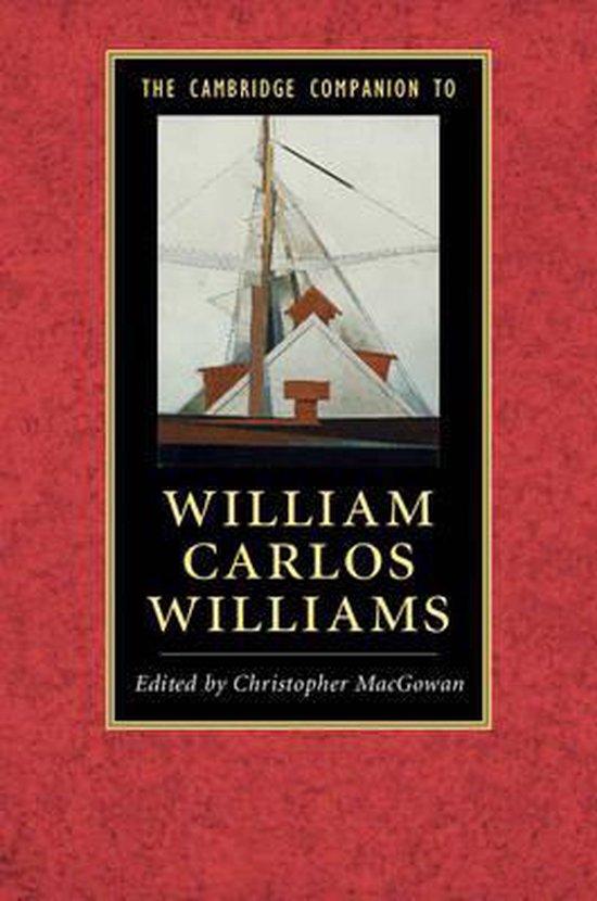 Boek cover The Cambridge Companion to William Carlos Williams van Christopher Macgowan (Paperback)