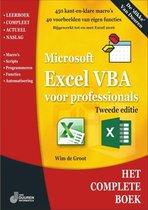 Het complete boek - Excel VBA voor professionals