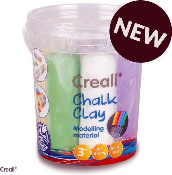 Chalk Clay - 750g Assortiment - Maak van klei je eigen stoepkrijt
