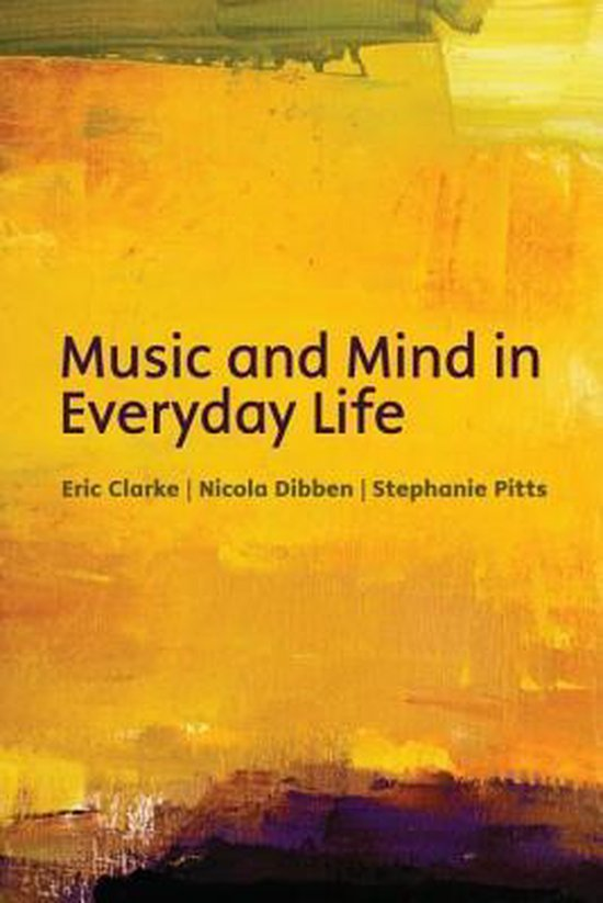 Afbeelding van Music and mind in everyday life