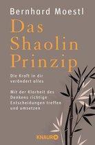 Boek cover Das Shaolin-Prinzip van Bernhard Moestl