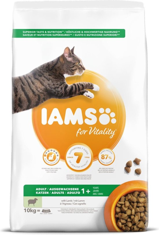 Iams Cat Adult - Lam - 10 kg
