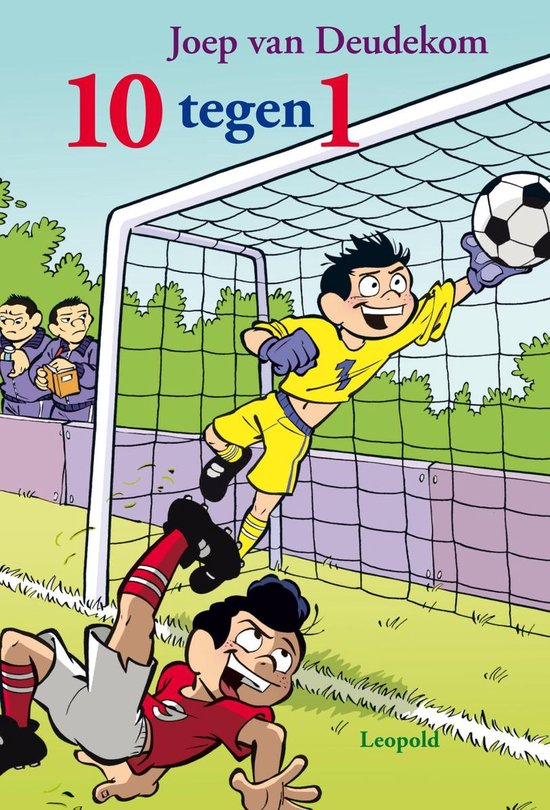 Cover van het boek '10 tegen 1' van Joep van Deudekom