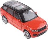 Welly Schaalmodel Land Rover Range Rover Sport Oranje