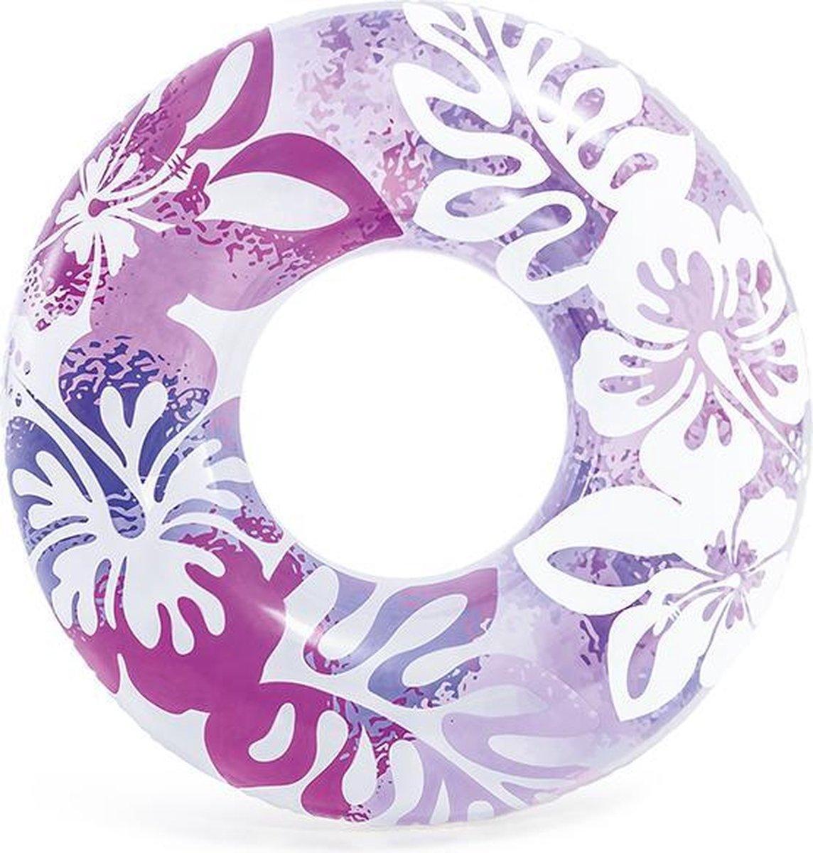 Zwemband Purple Flowers