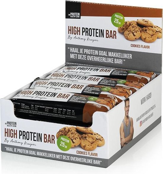 Dr. Protein High Protein Bar 80gr.