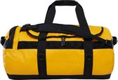 The North Face Base Camp Duffel Reistas M 69 liter - Summit Gold / TNF Black - vernieuwd model