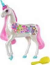 Barbie Dreamtopia Eenhoorn met Verlichte Sterren en Hoorn
