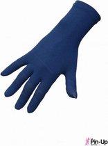 Therapeutische handschoenen - Pin Up de Paris - S/M - Donker Blauw