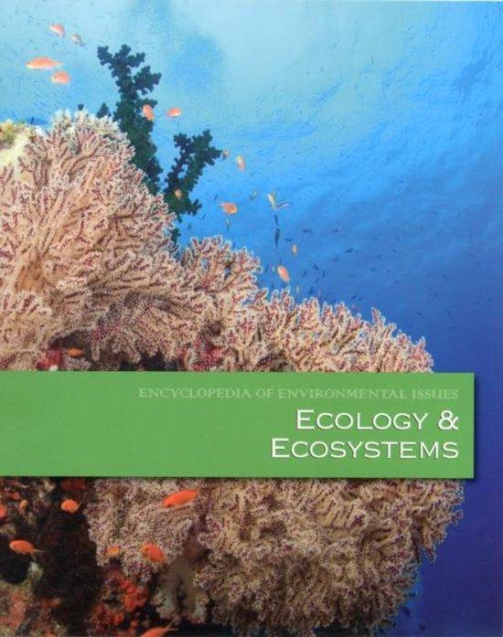 Boek cover Ecology & Ecosystems van Salem Press