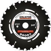 Kreator KRT020304 Invalzaagblad 165 mm - 24T