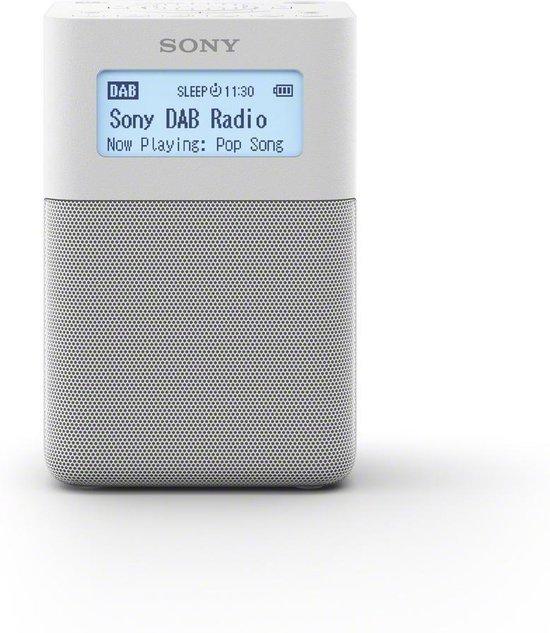 Sony XDR-V20DW - DAB+ radio - Wit