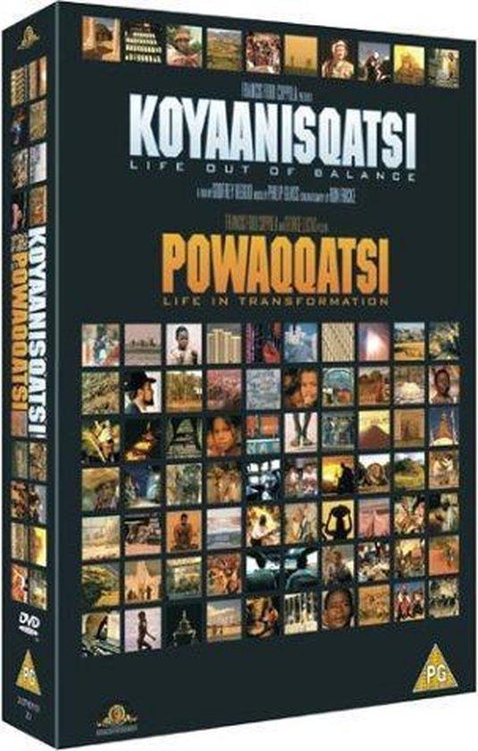 Cover van de film 'Koyaanisqatsi/Powaqqatsi'