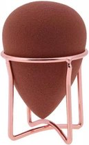 Make-up organizer | Make up Beauty Blender Houder | Make up spons houder | Carbon staal | Rose gold | Puff stand holder | MUA | Makeup artist