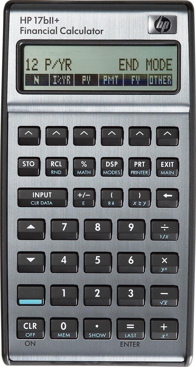 HP HP17BII+ - Rekenmachine