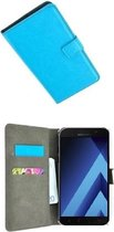 Samsung Galaxy A3 2017 Hoesje P Wallet Bookcase Turquoise
