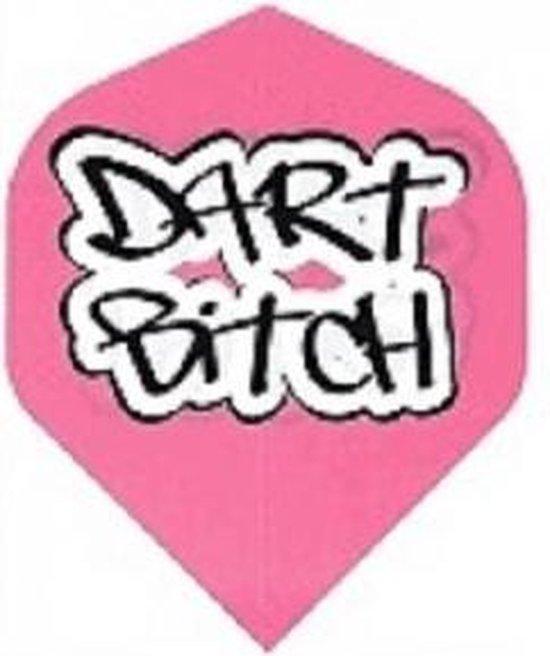 Dragon darts - Dart Bitch - Dart flights - Pink - darts flights