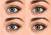 Pretty eyes kleurlenzen mix - 8 stuks - daglenzen