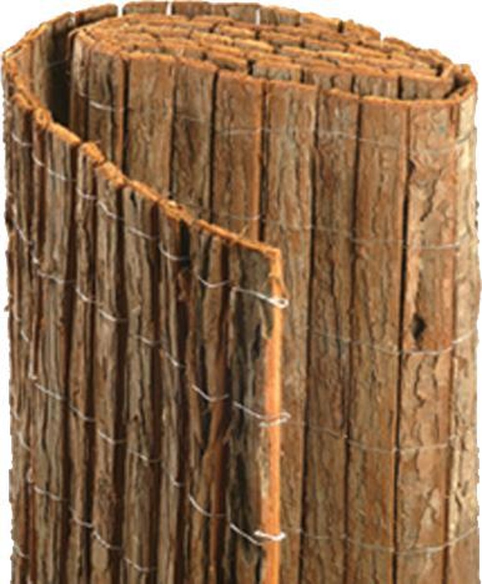 Boomschorsmat op rol hoogte 175 cm lengte 300 cm - Tuinafscheiding